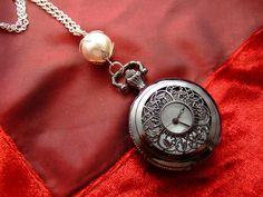 http://de.dawanda.com/product/10271890-Uhr-BLACK-AND-WHITE  Bitte Durchmesser beachten!    Die Uhr ist eine Qua...