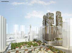 Gallery of Kimmel Eshkolot Architects Wins Competition for Masterplan in Tel Aviv - 2