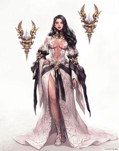 Foxy Fantasy Girl — by Lera Pi Fantasy Girl, Chica Fantasy, Fantasy Art Women, Beautiful Fantasy Art, Anime Fantasy, Dark Fantasy Art, Fantasy Artwork, Female Character Design, Character Design Inspiration
