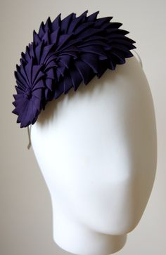 Esther Louise Millinery origami ribbon headband, gorgeous & bang on trend! #millinery #judithm #hats Simply stunning!