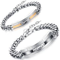 Flongo 2pc Bracelet Acier Inoxydable You are my olny love... https://www.amazon.fr/dp/B01DPEFICM/ref=cm_sw_r_pi_dp_FZ7zxbPJV78PE