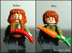 Bomburs Diet #LEGO #LOTR #diet