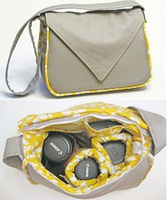 Padded Camera Bag - Go To Patterns