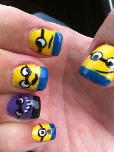 Mis uñas de Minions