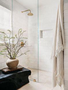 Earthy Bathroom, Bathroom Styling, Master Bathroom, Neutral Bathroom, Vanity Bathroom, Remodel Bathroom, Design Bathroom, Modern Bathroom, Bathroom Lighting
