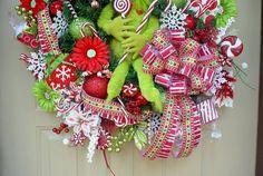 Who Stole Christmas-Grinch Holiday Christmas by SeasonalWreaths