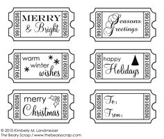 30 FREE Christmas Printables