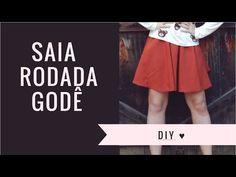 DIY - Modelagem e Costura - Saia com botões na frente - Curso de Corte e Costura - Passo a passo - YouTube