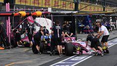 Esteban Ocon Force India VJM11  qualifying at Australian Grand Prix, Melbourne - Saturday 24 March 2018