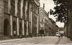 Graupenstraße (ul. Krupnicza) - Budynek Nowej Giełdy 1920-1945 r.
