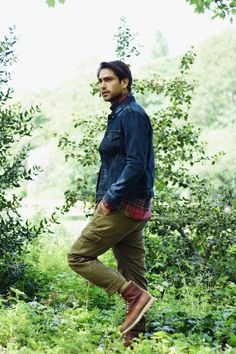 Check out Luke Pasqualino in his exclusive shoot and interview for Fault Online