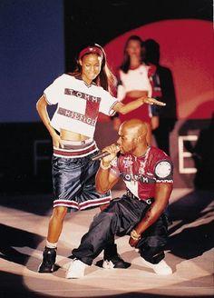 Tommy Hilfiger hip hop fashion
