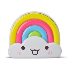 LED Rainbow Baby Nightlight with Light Sensor from infpass.com
