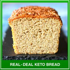 Your Guide to Baking Grain-Free, Low-Carb Bread including Keto-Friendly Bread Recipes With Net Carbs or Less! Keto Breads™ was Created with Your Satisfaction & Valuable Time in Mind. Paleo Sandwich Bread, Best Keto Bread, Low Carb Bread, Low Carb Keto, Paleo Bread, Bread Baking, Bread Recipes, Low Carb Recipes, Zone Recipes