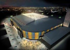 Friends Arena by C. F. Møller