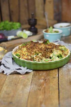 Knuspriger Brokkoli Auflauf - Broccoli Gratin with a crunchy crust | Das Knusperstübchen
