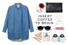 """""""#8"""" by evemii on Polyvore featuring Cultural Intrigue, Monki, McQ by Alexander McQueen, Chicnova Fashion, Dogeared, Lancôme, adidas, BOSS Hugo Boss, casual and CasualChic"""