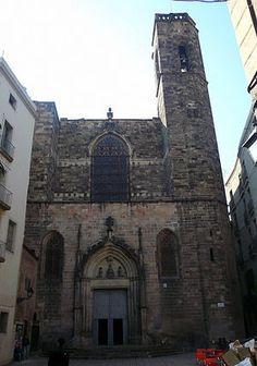 La Basílica de los Santos Justo y Pastor es una iglesia gótica situada en la Ciutat Vella de #Barcelona.