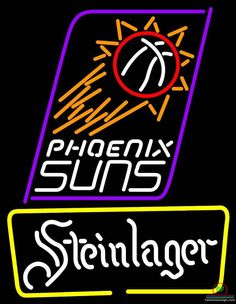 Steinlager Phoenix Suns Neon Sign NBA Teams Neon Light