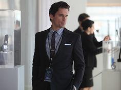 Matt Bomer as Neal Caffrey in White Collar