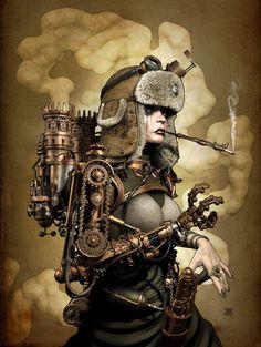 Steam Girl by Zephyr Chef.