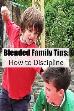 Tips on how to use discipline in a blended family. Should the stepparent discipline or take a step back? What's best for the kids and unity in the family?