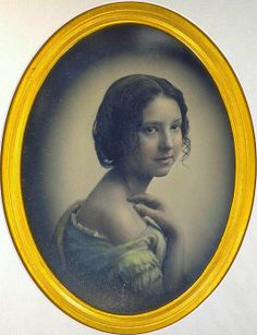 [Young Girl with Hand on Shoulder] ~ Southworth and Hawes, 1850