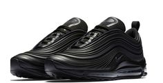 Adding to a series of Air Max 97 Ultra launches, Nike has just announced an all black colourway of their revamped Air Max silhouette.