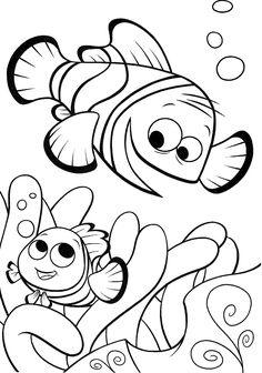 Top 20 Finding Nemo Coloring Pages For Kids: Accompany Nemo as he attempts to find his way home from a fish tank with these finding nemo coloring pages printable. The article features the coloring sheets of Nemo and other lead characters