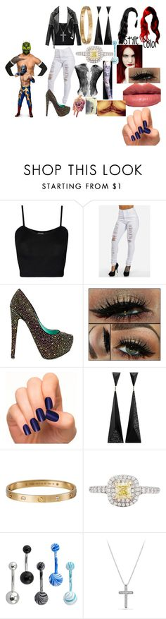 """A hardy and the Masked Man(Sin Cara(Hunico) Love Story)"" by anaeve ❤ liked on Polyvore featuring WearAll, TaylorSays, Bobbi Brown Cosmetics, Incoco, Cartier, Tiffany & Co., David Yurman and Burberry"