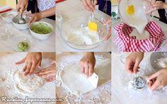 Mochi aisukurimu - Mochi de helado (con harina de arroz glutinosa, azúcar y agua y helado al gusto)