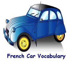 French Car Vocabulary