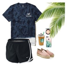 """""""Oml I love this❤️"""" by bri4432 on Polyvore featuring Hollister Co., Casetify, NIKE and MAC Cosmetics"""