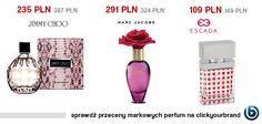Mamy duży wybór kosmetyków. Zobaczcie, czy znajdziecie na clickyourbrand swoje ulubione zapachy!