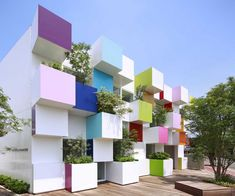 Emmanuelle Moureaux Architecture boxy exterior for the Sugamo Shinkin Bank