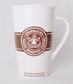Starbucks Spice Double Tail Mermaid Siren 16 oz Tall Coffee Cup Mug Discontinued