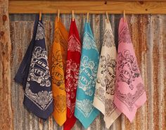 JG Bandana in a variety of colors with the original Junk Gypsy tattoo logo