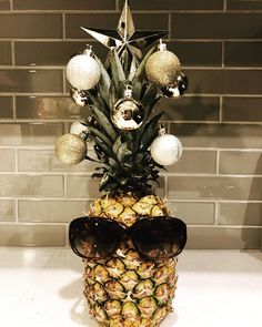 My little pineapple Christmas tree!