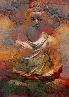 Almost life like Buddha Lotus Buddha, Art Buddha, Buddha Kunst, Buddha Zen, Buddha Painting, Gautama Buddha, Buddha Buddhism, Buddhist Art, Buddha Artwork