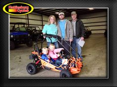 Thanks to Jade, Chase, Rodney, Tucker and Emeri Brewer from Richton MS for getting a 2017 Hammerhead Torpedo. @HattiesburgCycles