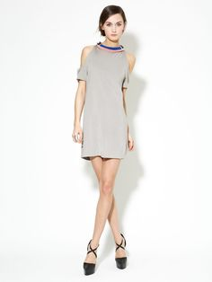 Ribbon Neck Jersey Cut-Out Dress from 3.1 Phillip Lim