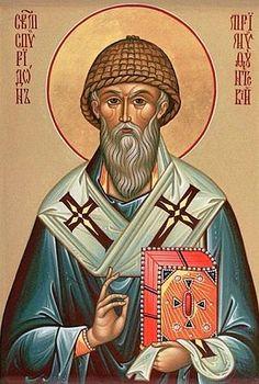 Άγιος Σπυρίδων ο Θαυματουργός, επίσκοπος Τριμυθούντος Κύπρου _ dec 12