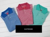 Supreme Heather Colored Polo Shirt Collection - Get yours now at www.deepluxe.com