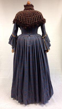 Costume designed by Terry Dresbach for Aislín McGuckin as Letitia MacKenzie on Outlander (2014-)
