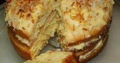 VLA LAAGKOEK Die koek moet in die yskas gehou word as dit nie dieselfde dag wat dit gebak is opgeëet word nie Sponskoek: 4 Groo. South African Desserts, South African Recipes, Baking Recipes, Cake Recipes, Dessert Recipes, Pizza Recipes, Ma Baker, Custard Cake, Novelty Cakes