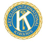 The new Key Club pin strengthens the branding between Kiwanis and Key Club.