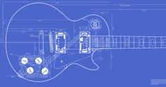 Complete plans and routing templates for all variations of the Gibson Les Paul (Custom, '59), plus Les Paul Junior. Perfect for custom builds.