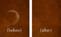 Merveilleux PRO Tip: You Can Use Petroleum Jelly To Remove Water Marks On Wood Furniture.  Apply A Thick Layer, Let It Sit 24 Hours, U0026 Rub With A Soft Cloth In A ...