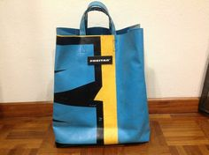FREITAG Miami Vice Tote Bag Blue Yellow Black in Clothing, Shoes & Accessories, Unisex Clothing, Shoes & Accs, Other Unisex Clothing & Accs | eBay