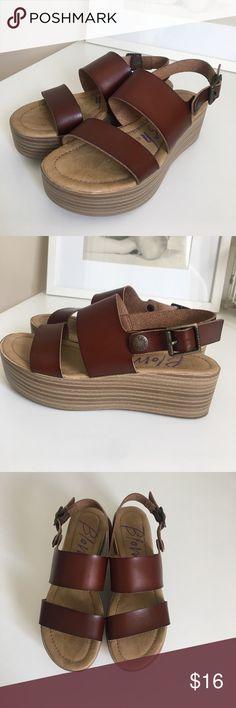 "Platform Heels Size 6 Platform Heels Size 6. Worn once. Heel is 2"". Blowfish Shoes Platforms"